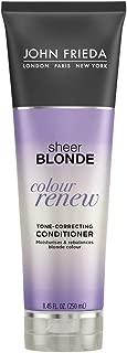 John Frieda Sheer Blonde Colour Renew Purple Conditioner, 8.45 Ounce