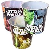 TE-Trend Juego de 3 cubos de basura con diseño de Star Wars, para niños, para...