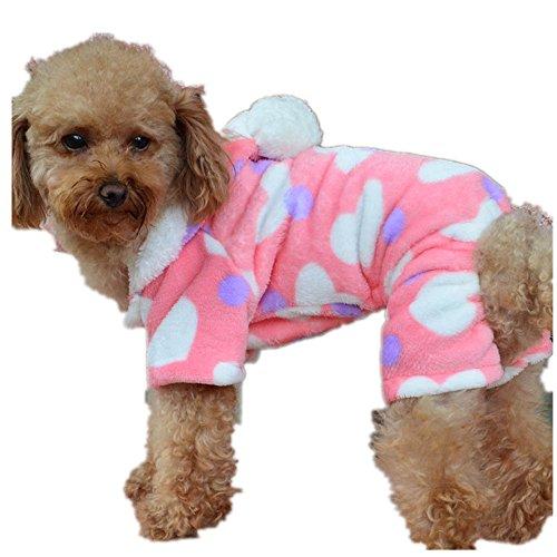 Culater® Il Cucciolo di Cane Gatto Vestiti Felpa Cappotto Tuta Costume dell'Abbigliamento (S)