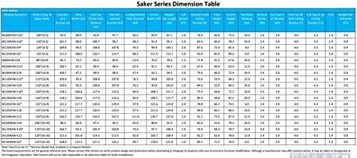 Elite Screens Saker, 100-inch 16:10 with 24