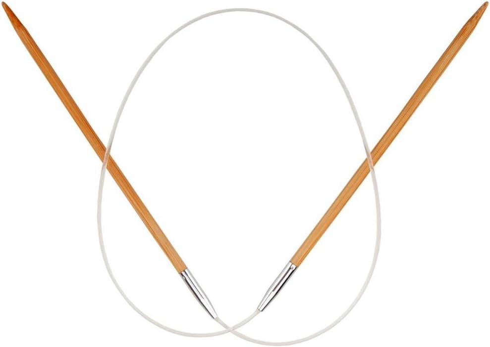 ChiaoGoo Circular NEW before selling ☆ 24 inch Gifts 61cm Bamboo Nee Patina Dark Knitting