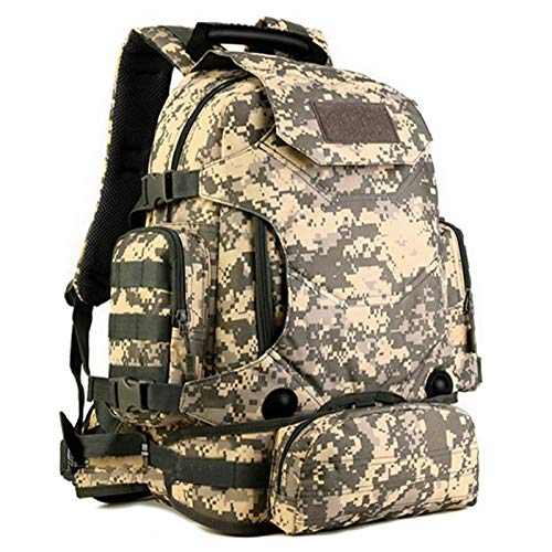 Selighting Zaino Militare Tattico 40L Zaino da Assalto Molle Backpack Uomo Zaino Sportivo Impermeabile per Campeggio Alpinismo Escursionismo Viaggio Trekking