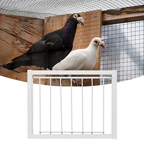 Redxiao~ Jaulas para pájaros de Alta Resistencia y Buena Estabilidad Trampa en T, Puerta de Hierro para la casa de los pájaros, fácil instalación Trampa en T Simplemente(30 * 26cm)