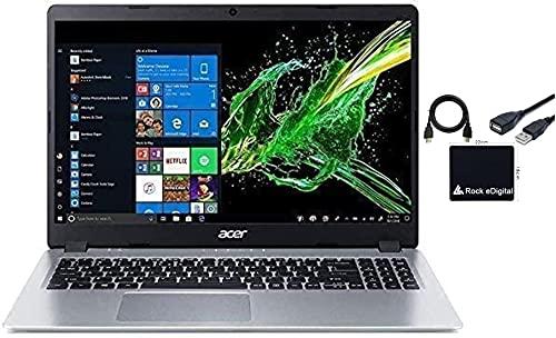 2021 Newest Acer Aspire 5 15.6' FHD 1080P Laptop Computer AMD Ryzen 3 3200U Dual Core Processor (Beat i5-7200U) 8GB RAM 256GB SSD Backlit Keyboard WiFi Bluetooth HDMI Windows 10 Pro w/ RE Accessories