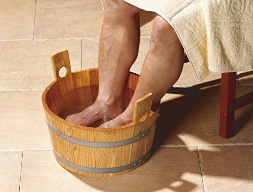 Fußkübel aus Fichtenholz