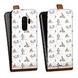 DeinDesign Étui Compatible avec Samsung Galaxy S9 Plus Duos Étui à Rabat Étui magnétique Winnie...