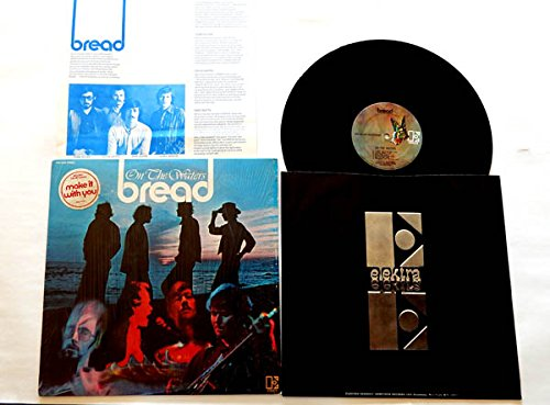 Bread LP On the Waters - Elektra Records 1970 - Near Mint in Shrinkwrap - 1970 Release - Song Sticker and Lyrics Insert - 'Make It With You'