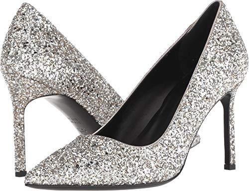 Price comparison product image Via Spiga Women's Nikole 3 Silver Sand 8 M US