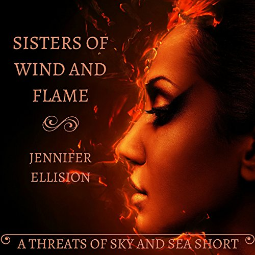 Sisters of Wind and Flame audiobook cover art