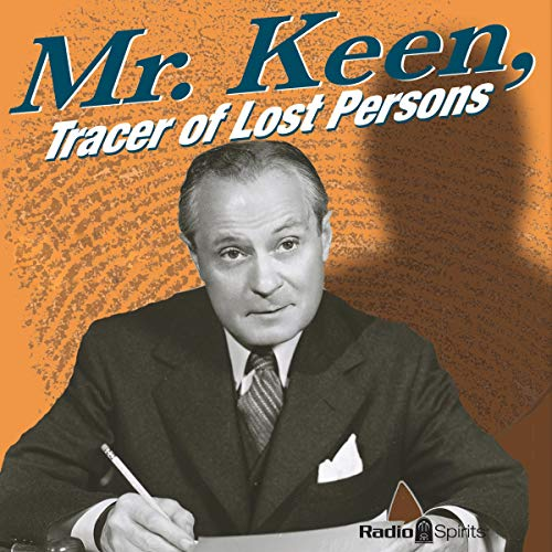 Mr. Keen, Tracer of Lost Persons audiobook cover art