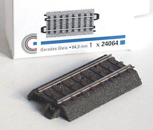 Märklin 24064 H0 Gerades Gleis, 64,3 mm, 1 Gleis