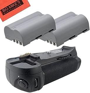 Battery Grip Kit for Nikon D300, D300S, D700 Digital SLR Camera Includes Qty 2 Replacement EN-EL3e Batteries + Vertical Battery Grip