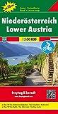 Niederösterreich, Autokarte 1:150.000