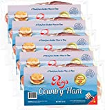 Rays Country Ham - 3 3/4 lb. / 5 - 12 oz. Packs - Blue Ridge Mountain Cured