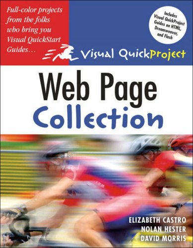 Web Page Visual QuickProject Guide Collection