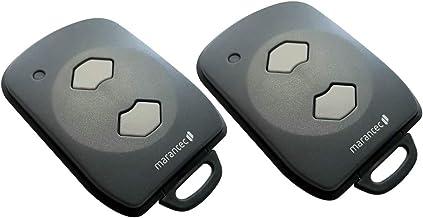2 Marantec digitale 392 mini handzender 868 MHz * opvolger Digital 302 313 321 * - draadloze zender afstandsbediening gara...