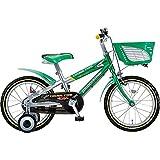 ブリヂストン 子供用自転車 クロスファイヤーキッズ CK186 グリ-ン&シルバ