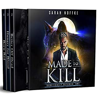 Genetically Altered, Complete Boxed Set     A Science Fiction Werewolf Thriller, A Dream Traveler Series - Genetically Altered              By:                                                                                                                                 Sarah Noffke                               Narrated by:                                                                                                                                 Elizabeth Klett                      Length: 24 hrs and 2 mins     20 ratings     Overall 4.5