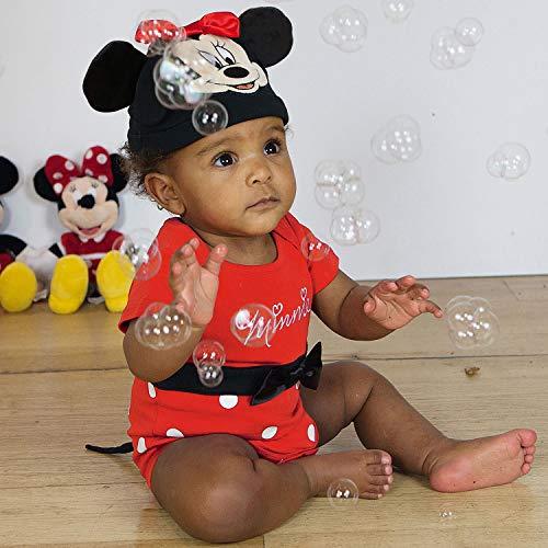 Costume/grenouillère bébé officielle Disney - Minnie Mouse - Taille 9-12 mois