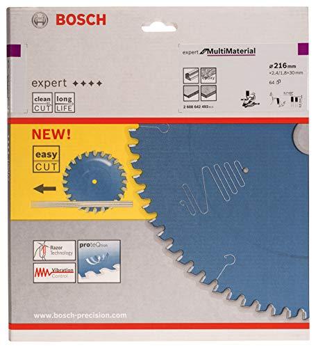 Bosch 2608642493 Kreissägeblatt Expert for Multi 216 x 30 x 2.4 mm Z64T - 2