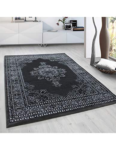 Carpet 1001 Tapis Oriental Classique de Salon Orient Marrakech 0297 Gris - 80x150 cm