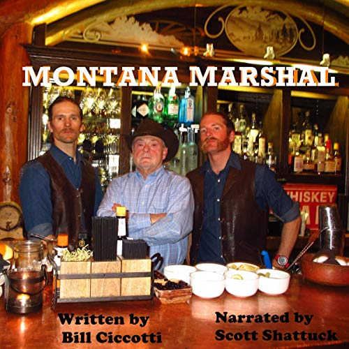 Montana Marshal audiobook cover art