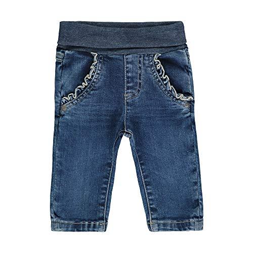 Steiff Mädchen Jeanshose Jeans, Blau (Ensign Blue 6051), 50 (Herstellergröße: 050)