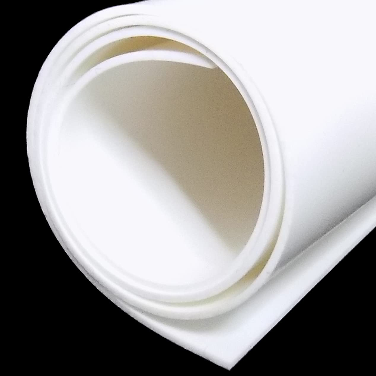 White Silicone Rubber Sheet, 60A Duro, 1/32 x 9 x 12 Inch, Food Grade, Made in the USA, No Adhesive Backing, High Temp Heavy Duty for Gaskets DIY Food Covers Lids Sealing Material Pads Oven Protection