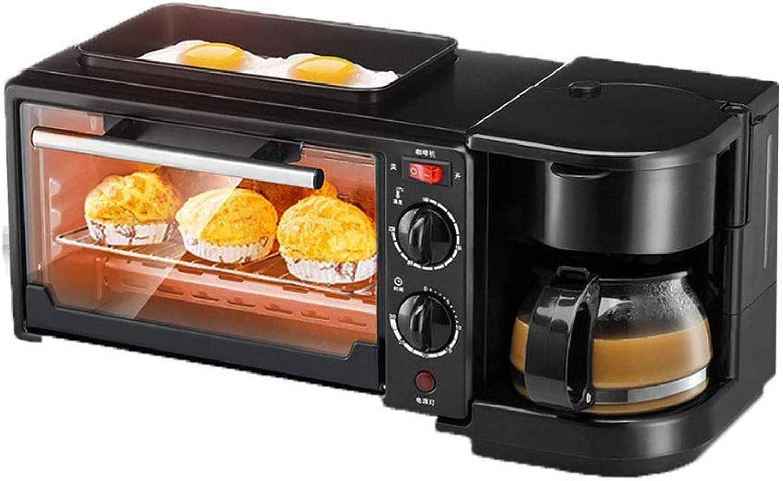 autentico en linea Aparatos Aparatos Aparatos electrodomésticos multifunción tres en uno máquina de desayuno 750W termostato ajustable, control de temperatura independiente de los tubos superior e inferior  marcas en línea venta barata