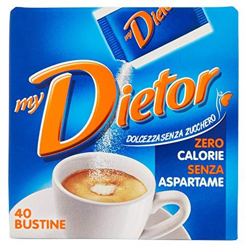 Dietor Dolcificante, Zero Calorie, 40 x 0.8g