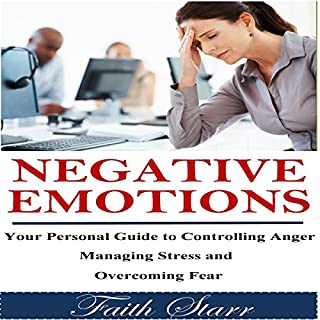 Negative Emotions audiobook cover art
