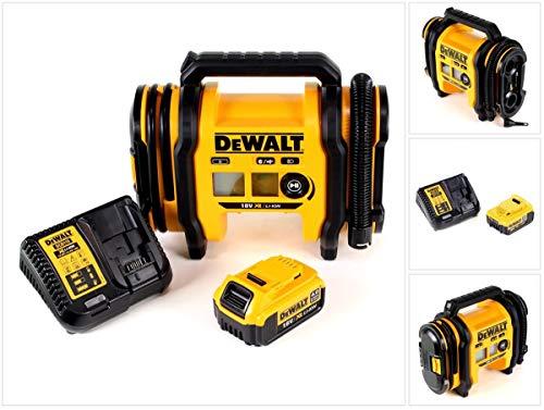 DeWalt DCC 018 M1 - Compressore d\'aria agli ioni di litio, 18 V, 11 bar, con 1 batteria da 4,0 Ah e caricatore, senza valigetta