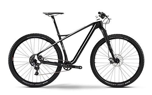Haibike Greed 9.90 29' Mountain Bike Carbonio/Argento/Bianco Opaco (2016), 50