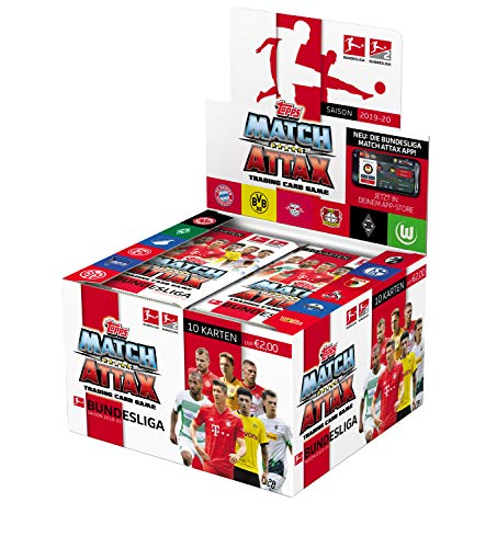 Topps Bundesliga Match Attax 2019/20 36er Displaybox