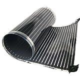 QuietWarmth QWARM3x5F120 Electric Floor Heating System, 3' x 5', Black