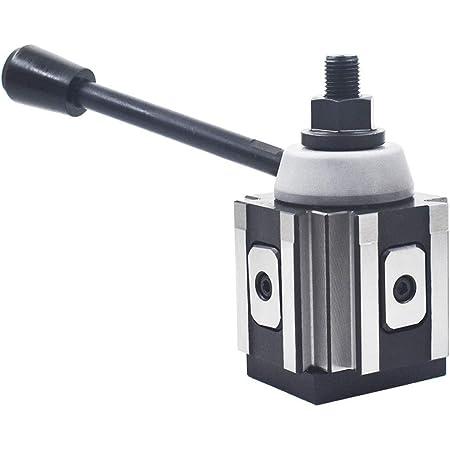 Accusize Tools Piston Type Quick Change Tool Post 0250-0100 for Lathe Swing 6-12 AXA