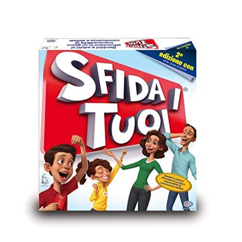 Spin Master Games Sfida i Tuoi, Gioco in Scatola, Seconda Edizione con le Challenge, dai 6 Anni, Multicolore, 6055289