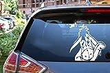 Autocollant de voiture Bourriquet Waving Sticker Autocollant Jdm Drôle Fenêtre En Vinyle Bumper Laptop 12.7Cm