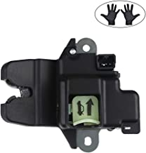 WMPHE Trunk Lock Latch Trunk Door Lock Actuator with Emergency Handle Fits for Elantra Replace # 81230-3X010 Tailgate Latch Lock Actuator with Gloves