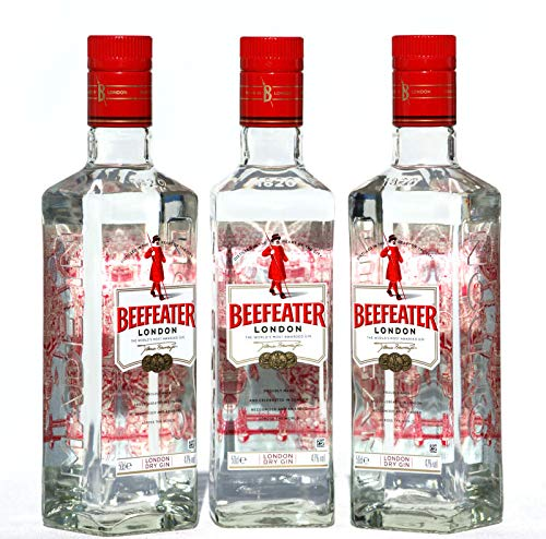 Beefeater London dry Gin 47% 3 X 0,50 Liter Flaschen