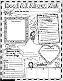 Instant Personal Poster Sets: Read All About Me: Big Write-and-Read Learning Posters Ready for Kids to Personalize and Display With Pride!