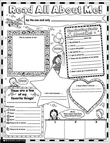 Compare Textbook Prices for Instant Personal Poster Sets: Read All About Me: Big Write-and-Read Learning Posters Ready for Kids to Personalize and Display With Pride  ISBN 0884382998922 by Teaching Resources, Scholastic,Scholastic,Cooper, Terry,Scholastic