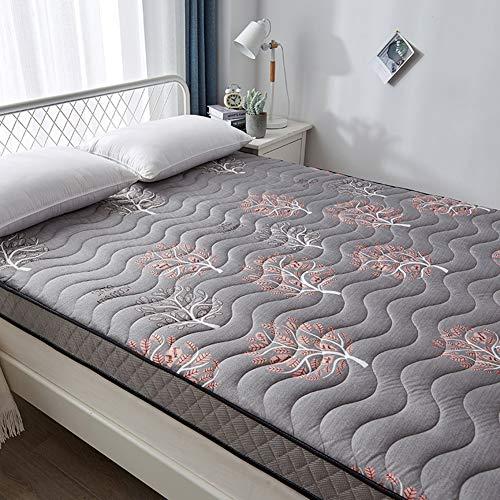 YQ WHJB Memory Foam Floor Mattress, Thicken Natural Latex Bed Mattress Folding Breathable Sleeping Tatami Floor Mat For Student Dormitory Mattress Topper-a 140x190cm(55x75inch)