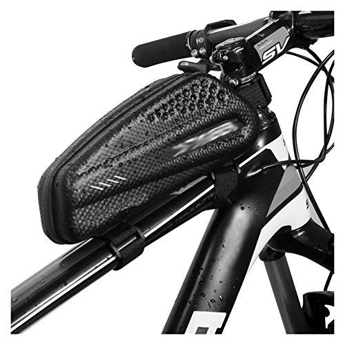 Jybhsh MTB Bolso de la Bicicleta a Prueba de Agua Asiento Trasero de Gran Capacidad a Prueba de Golpes a Prueba de Lluvia Tija de sillín de la Bicicleta Accesorios Reflectante de una Silla Accesorios