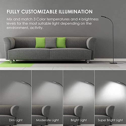 LED Standleuchte /Leselampe von TECKIN - 3