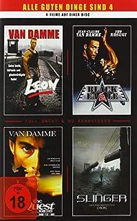 van Damme - 4 Filme - 1 DVD (Leon - Black Eagle - The Quest - Slinger)