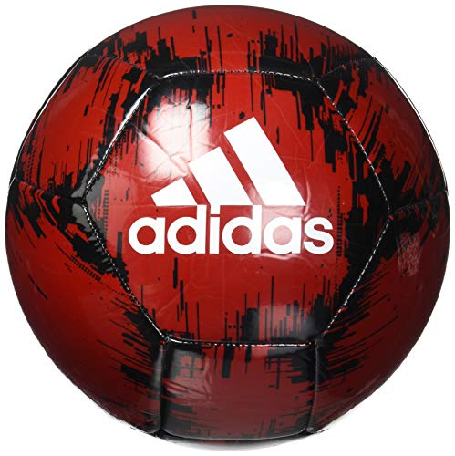 adidas Glider 2 Soccer Ball Power Red/Black/White 3