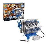 Discovery- Construye, Juegos, Maquetas para Niños, Construccion, Motor de Juguete, Color Blanco,...