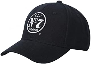 Jack Daniels Old No. 7 Cotton Twill Hat Black