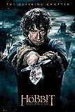 The Hobbit - BOTFA - Bilbo - Schlacht der 5 Heere Plakat